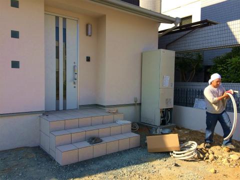 高丘西 Wさんの家 ★クリーニング工事、内装工事、給排水工事_d0205883_168526.jpg