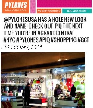 「パイロンズ」(PYLONES)のNYグランドセントラル店が「P!Q」へ_b0007805_2381860.jpg