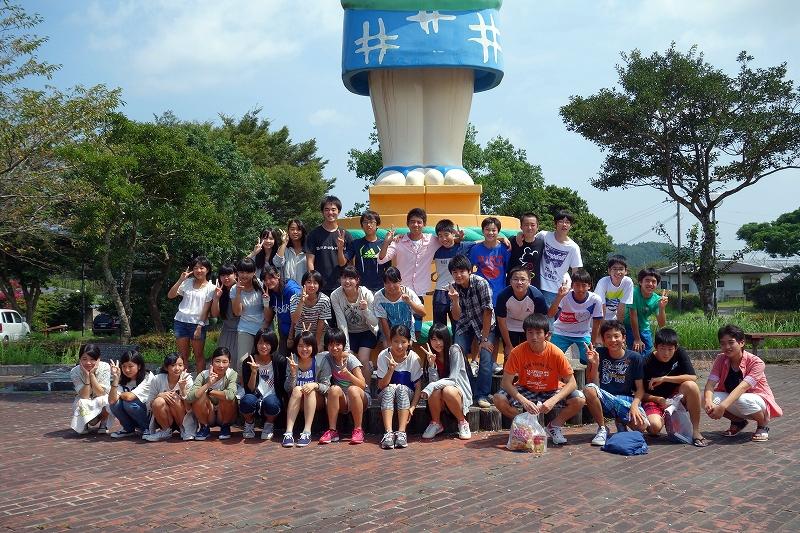2014年宮崎夏合宿の写真-かかし館 後編 -_d0116009_7373848.jpg