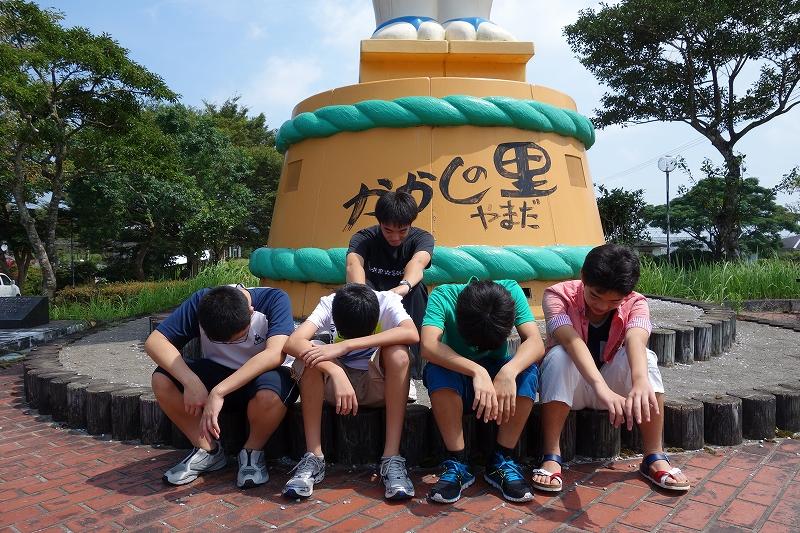 2014年宮崎夏合宿の写真-かかし館 後編 -_d0116009_7383370.jpg