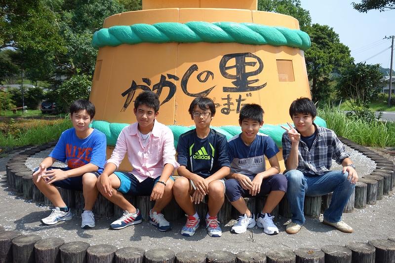 2014年宮崎夏合宿の写真-かかし館 後編 -_d0116009_74096.jpg