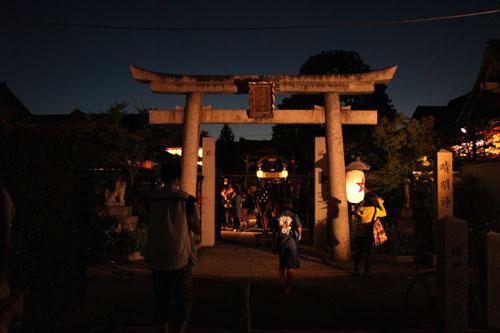 晴明神社 宵宮で湯立て神事_e0048413_18305182.jpg
