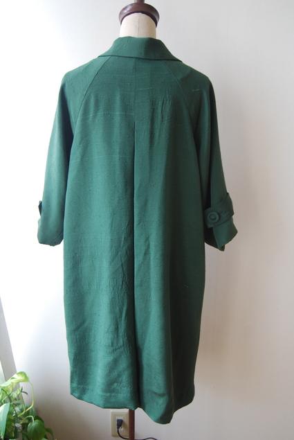着物リメイク・紬のラグランコート_d0127925_0163142.jpg