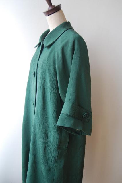 着物リメイク・紬のラグランコート_d0127925_0165682.jpg