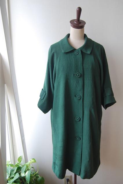 着物リメイク・紬のラグランコート_d0127925_0171526.jpg