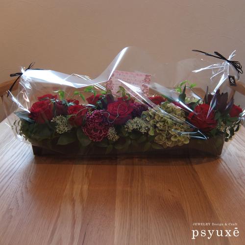 素敵なお花を贈っていただき誠にありがとうございます_e0131432_11184327.jpg