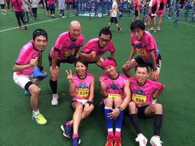 アクトス6時間リレーマラソン2014 in ナゴヤドーム_a0260034_20253319.jpg