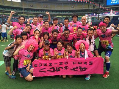 アクトス6時間リレーマラソン2014 in ナゴヤドーム_a0260034_20253658.jpg