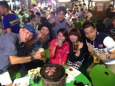 アクトス6時間リレーマラソン2014 in ナゴヤドーム_a0260034_21321948.jpg