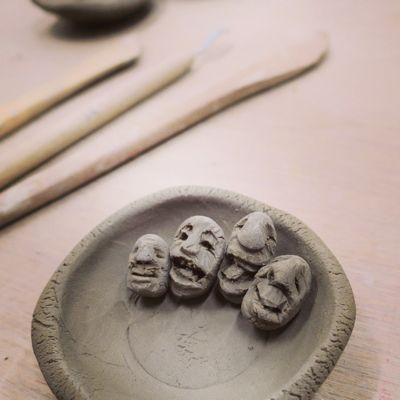 ちっさな顔を120個以上。Makers\' Baseで陶芸三昧の一日_c0060143_22214646.jpg