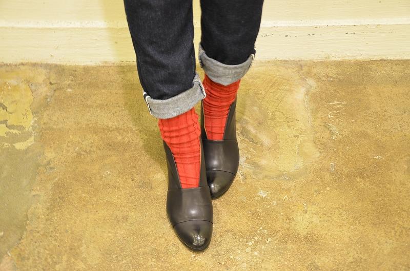 今年のChausser(ショセ)のブーツは・・・*゜_a0256162_19494314.jpg