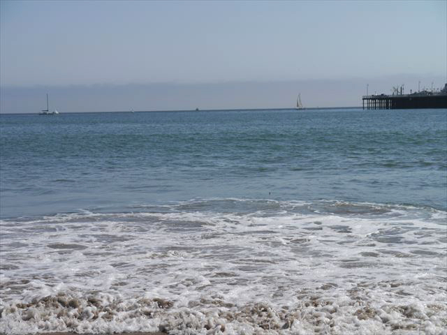Santa Cruz Beachでのんびり~ 2014.9.12_f0167281_17191540.jpg