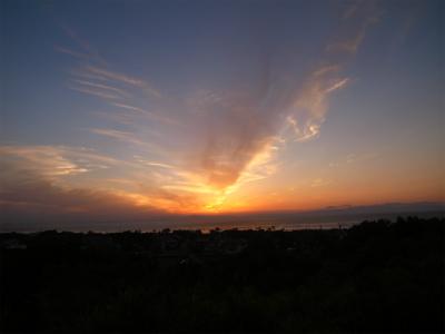 秋の夕日 (3)_f0059988_2313056.jpg
