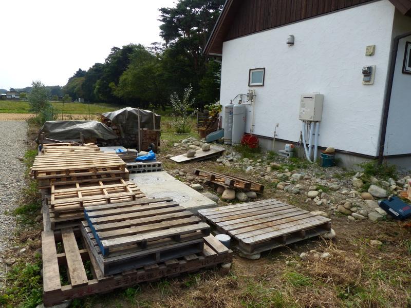 木製パレット造枠組壁工法・薪小屋_a0288621_19541400.jpg