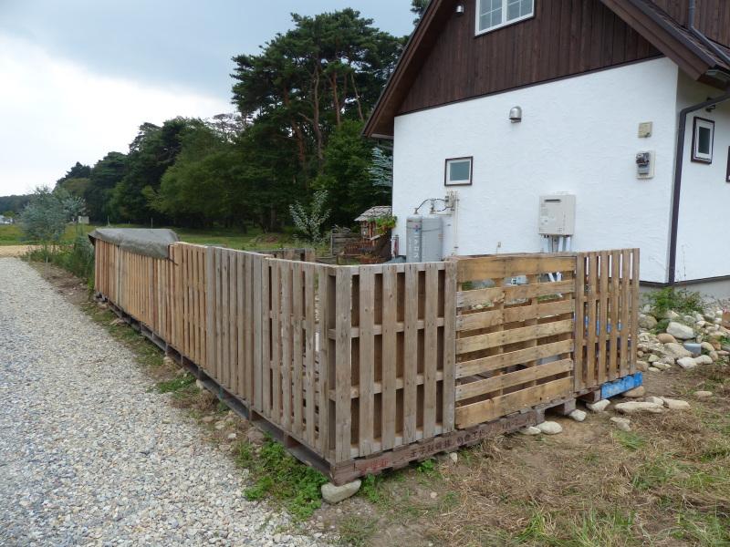 木製パレット造枠組壁工法・薪小屋_a0288621_19545174.jpg