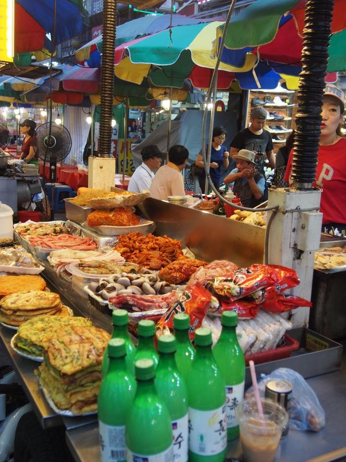 2014 9月 ソウル (10) とりあえず、南大門市場でつまむ_f0062122_1213382.jpg