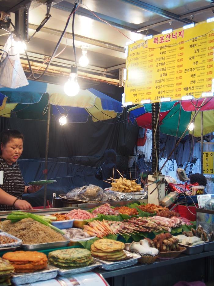 2014 9月 ソウル (10) とりあえず、南大門市場でつまむ_f0062122_121619.jpg