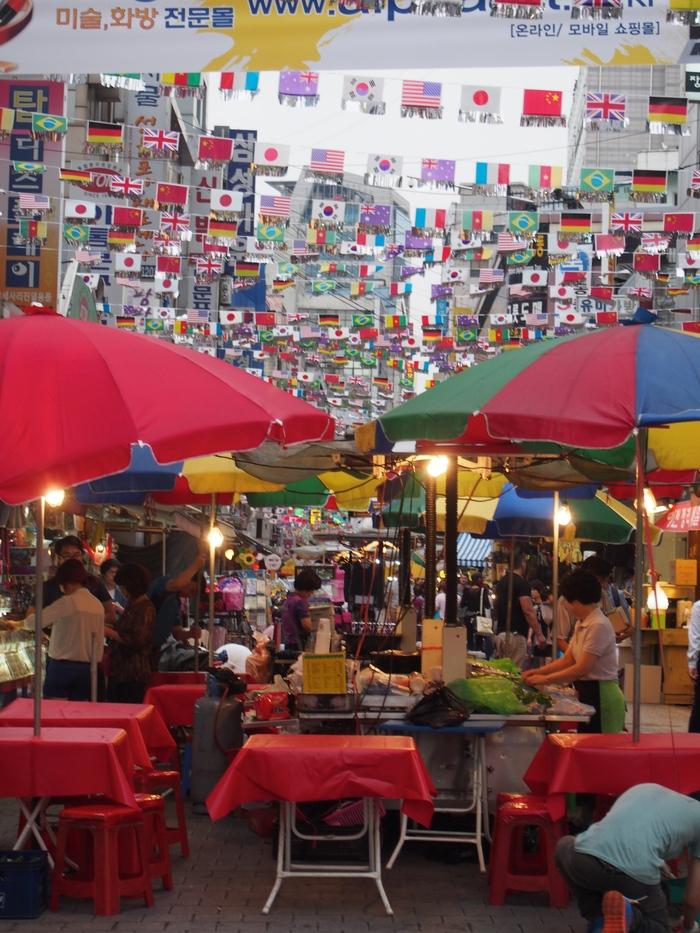 2014 9月 ソウル (10) とりあえず、南大門市場でつまむ_f0062122_1253646.jpg
