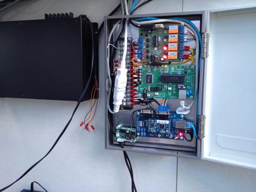 実家ドームに新エアコンコントローラ&パワコン盤 設置_c0061727_11574551.jpg