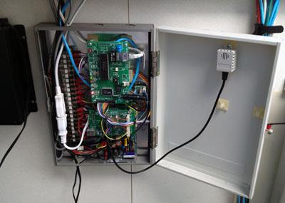 実家ドームに新エアコンコントローラ&パワコン盤 設置_c0061727_15151218.jpg