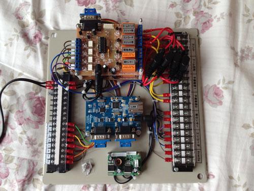 新型 遠隔ドームコントローラ盤 (多点スイッチタイプ)_c0061727_1756558.jpg