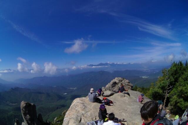 9/23 晴れ 瑞牆山に登ってみた!! その2_a0060230_8504291.jpg