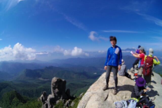 9/23 晴れ 瑞牆山に登ってみた!! その2_a0060230_854974.jpg