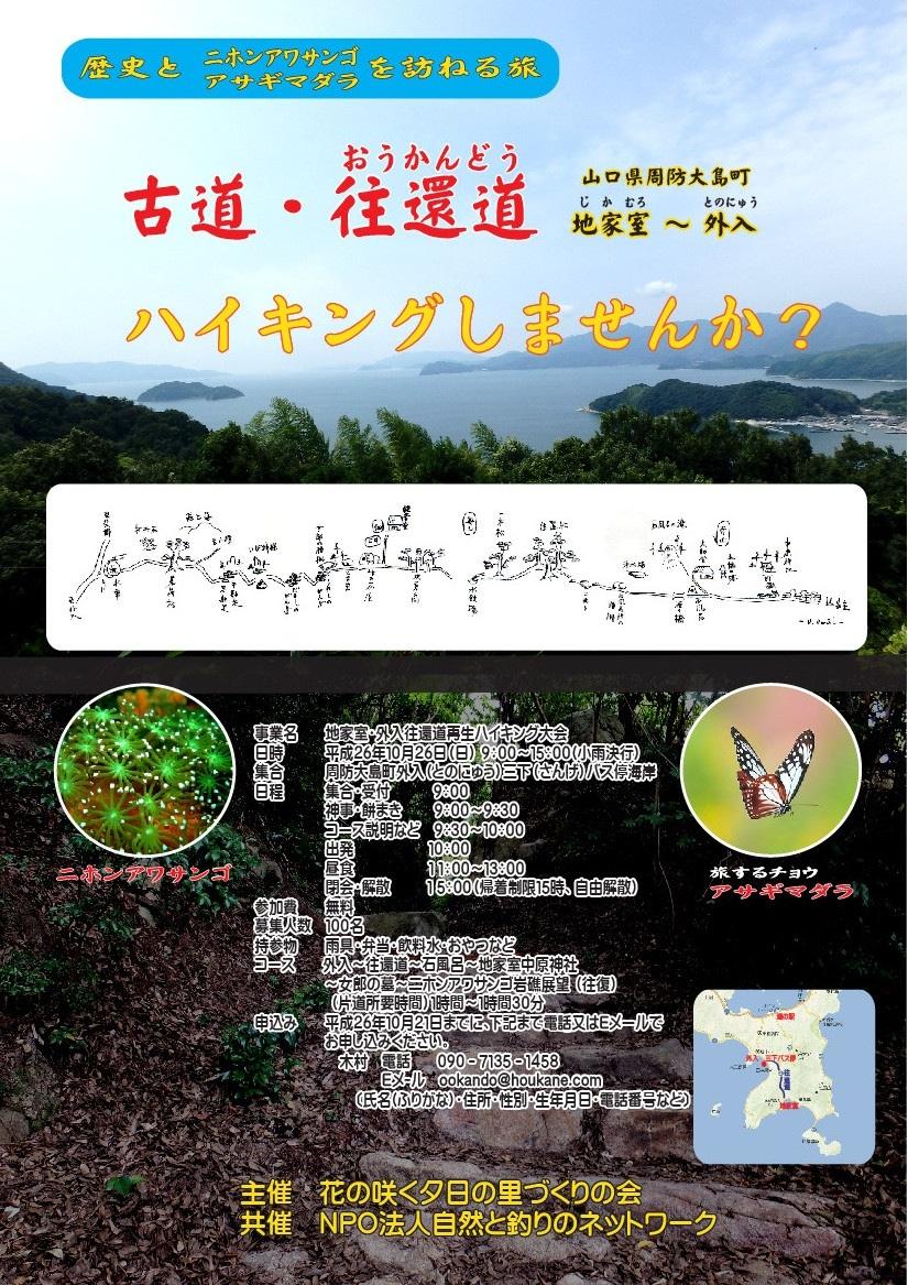 アサギマダラ&往還道_f0183846_19415043.jpg