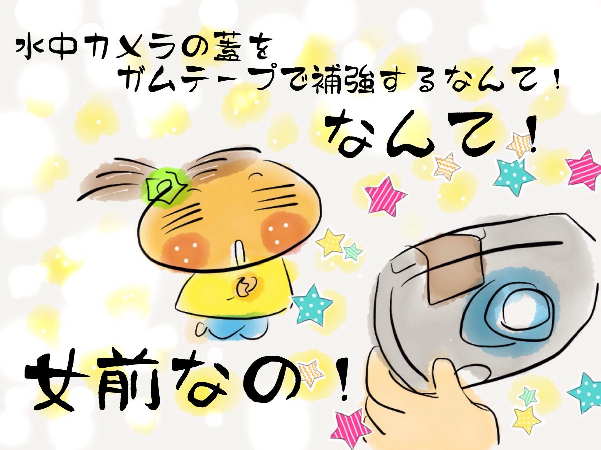 水中カメラさん、ありがとう☆_f0183846_23184021.jpg