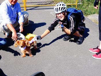 サイクリングに行ってきました☆_e0140354_1136131.jpg