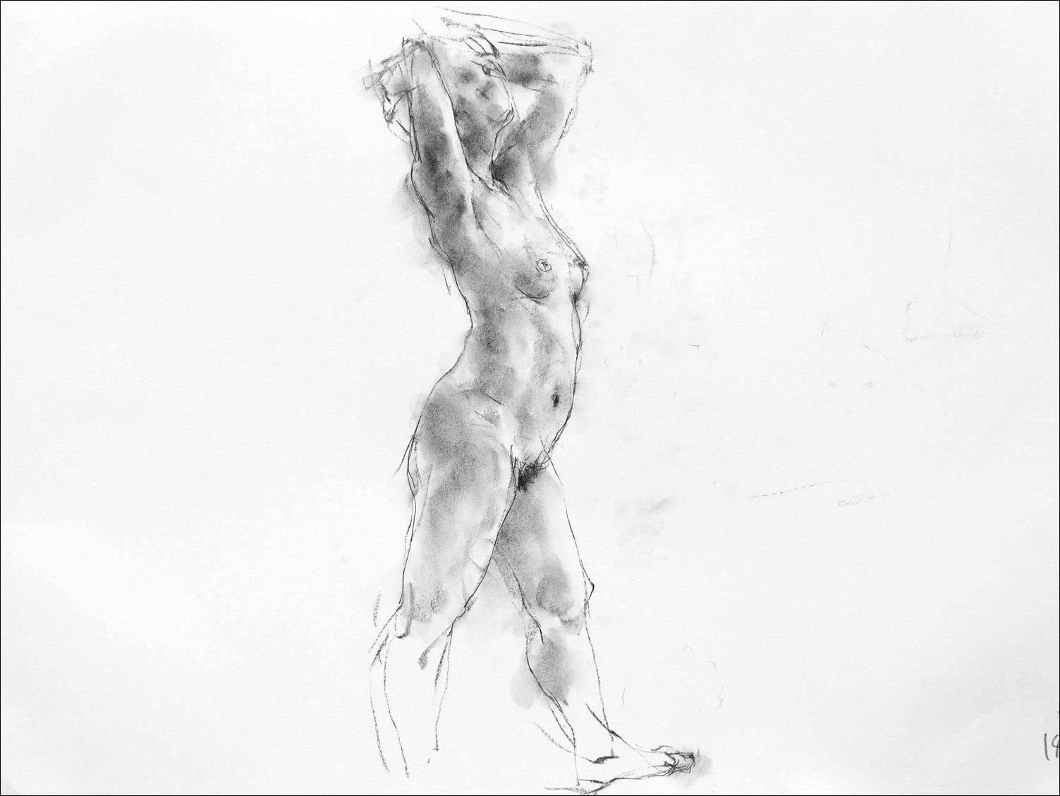 《裸婦素描 2》_f0159856_739824.jpg