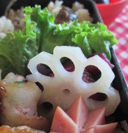 9.25 2種キノコの炊き込みご飯弁当_e0274872_22371482.jpg