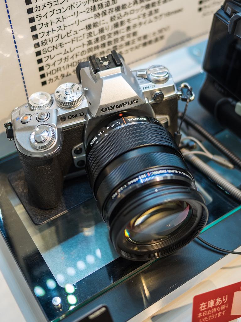「M.ZD ED 40-150mm F2.8 Proを見にオリンパスプラザへ」_a0133692_197613.jpg
