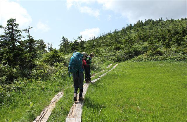 ハクサンコザクラ咲く会津駒ケ岳へ その1_b0246693_15024448.jpg