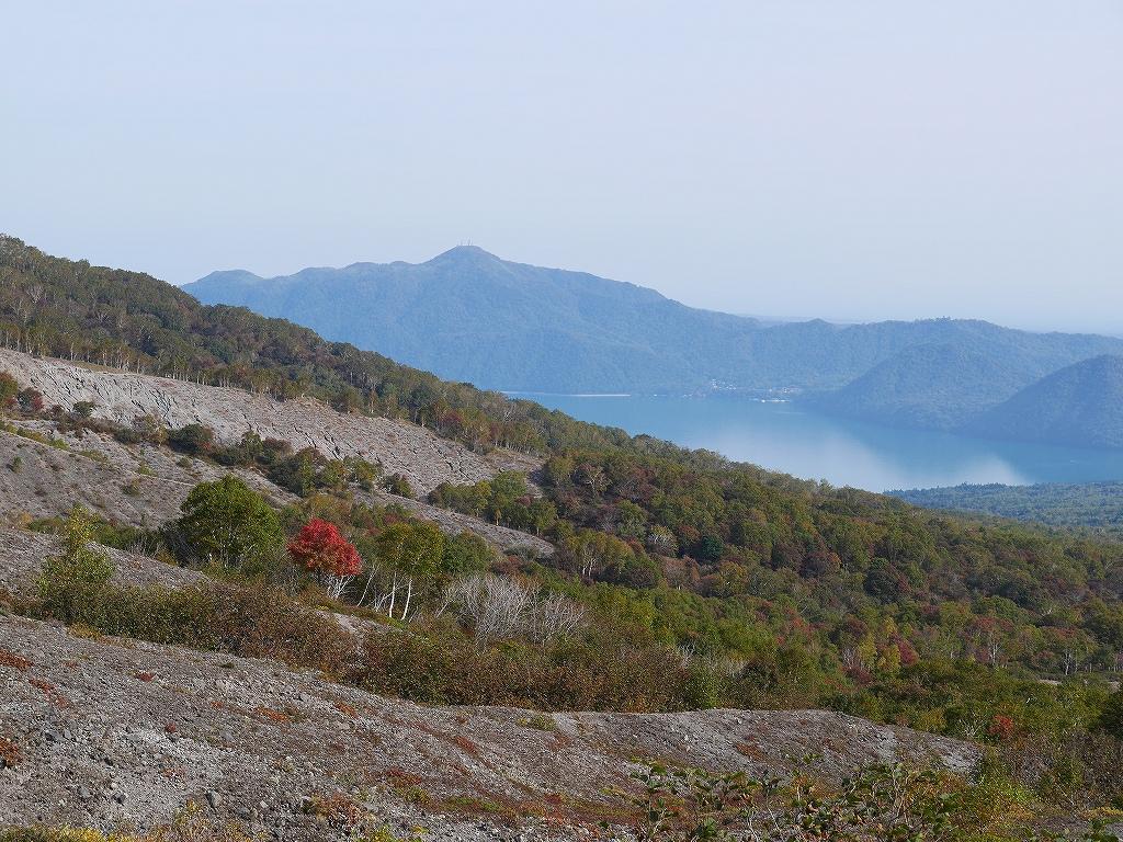 紋別岳、風不死岳と樽前山、9月24日-速報版-_f0138096_1611661.jpg