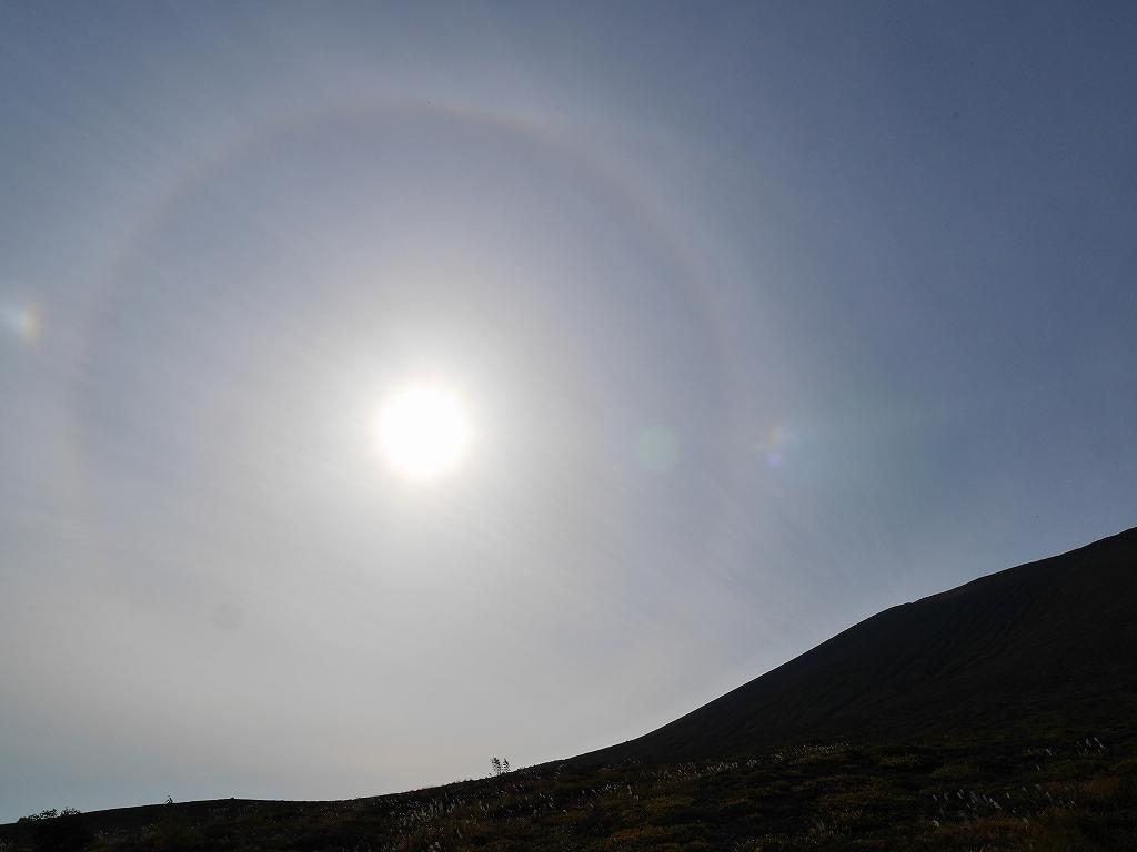 紋別岳、風不死岳と樽前山、9月24日-速報版-_f0138096_1621147.jpg