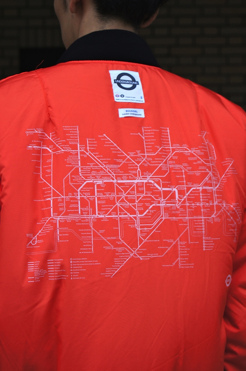 Roundel by London Underground - PATCHED MA-1 BOMBER!!_c0079892_19484396.jpg