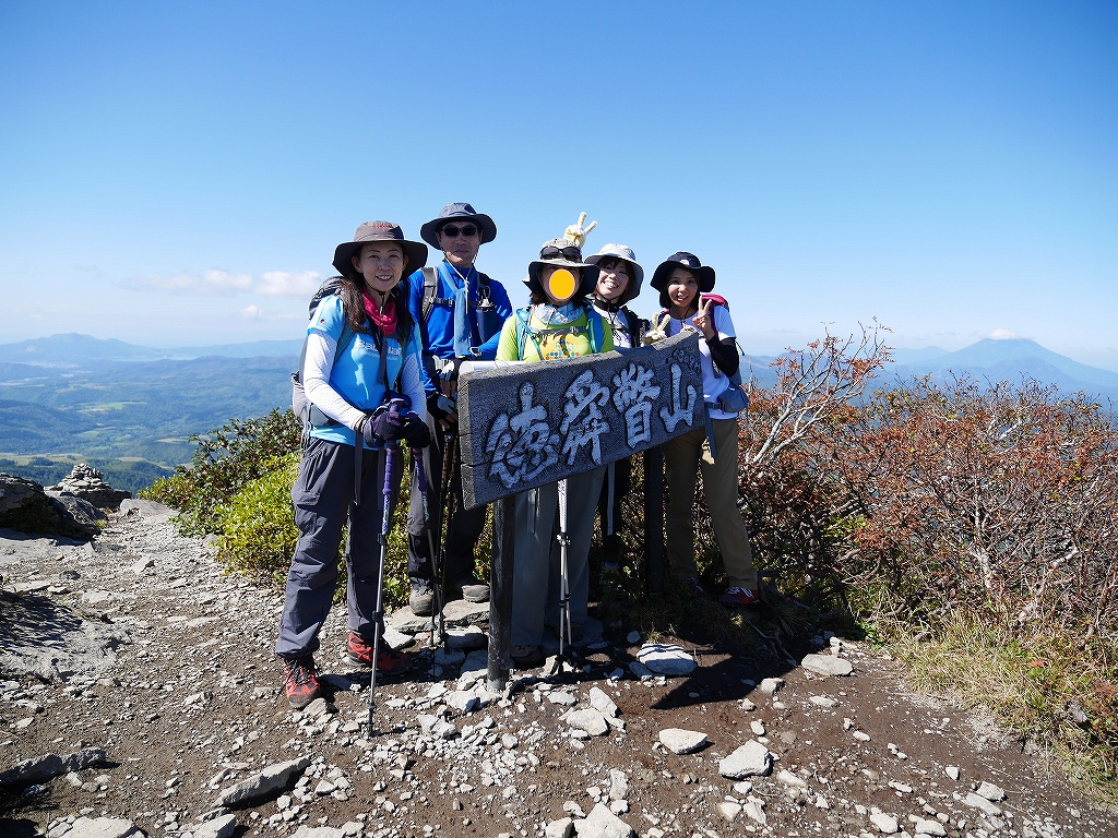 ホロホロ山と徳舜瞥山、9月21日-その3-_f0138096_20213765.jpg