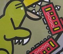 怪獣図鑑展 7  その2_e0134502_16495225.jpg