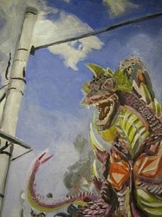 怪獣図鑑展 7  その2_e0134502_17262884.jpg