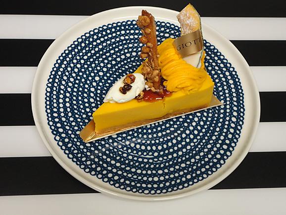 GIOTTOで秋のケーキ_e0230011_1752926.jpg