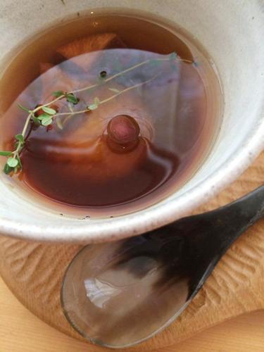 【 いちじくの赤ワインコンポート紅茶 タイムの香り 】_a0251920_11193925.jpg