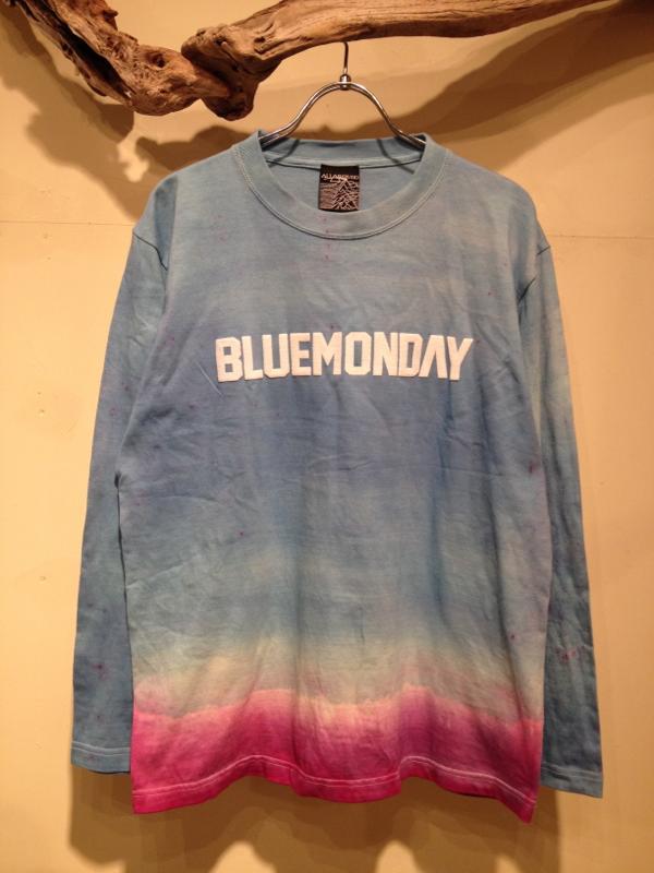 "Gradation dye cutsaw \""BLUEMONDAY\""_f0126931_16454438.jpg"