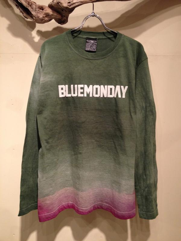 "Gradation dye cutsaw \""BLUEMONDAY\""_f0126931_16454548.jpg"