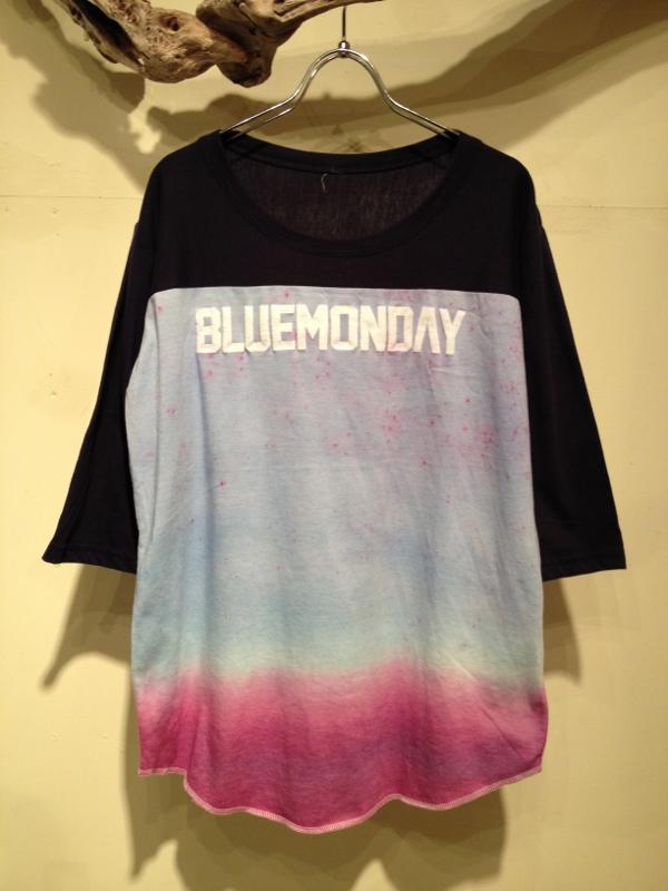 "Gradation dye cutsaw \""BLUEMONDAY\""_f0126931_16454649.jpg"