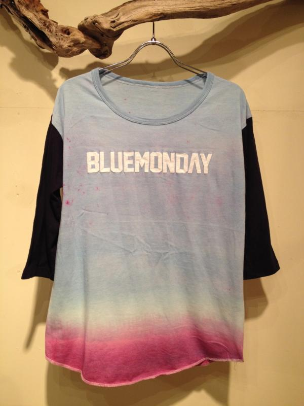 "Gradation dye cutsaw \""BLUEMONDAY\""_f0126931_16454769.jpg"