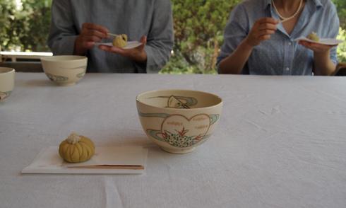 「秋を感じる和菓子づくりの会」を終えて_d0145345_1448273.jpg