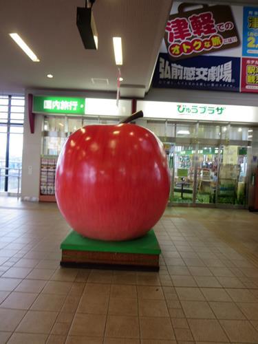 【青森・弘前りんご旅】最終回 はやぶさで帰宅_c0042960_1722332.jpg