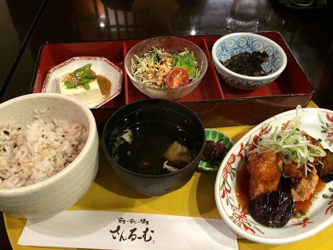 自然食レストラン さんるーむ_e0195766_17555836.jpg