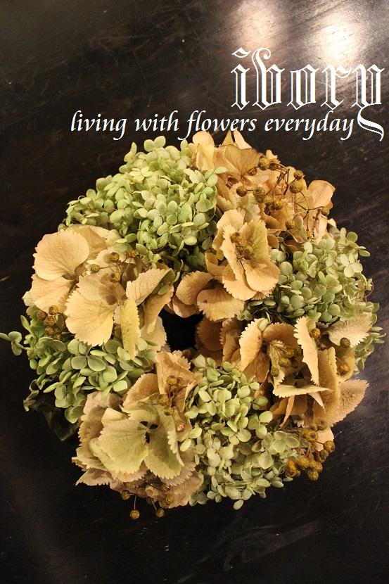 ~ivory 花教室9september~_b0094378_1823767.jpg